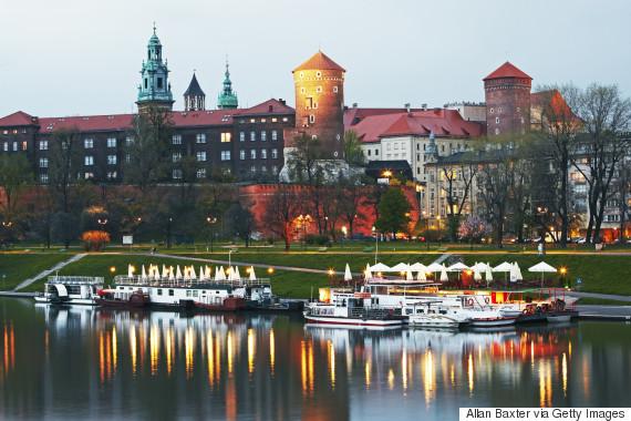 krakow city poland