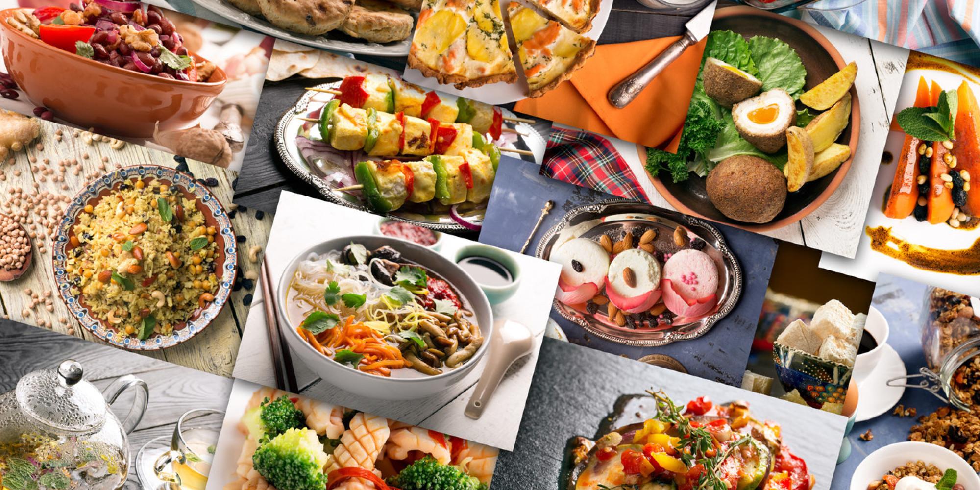 Foods Around The World Worksheet