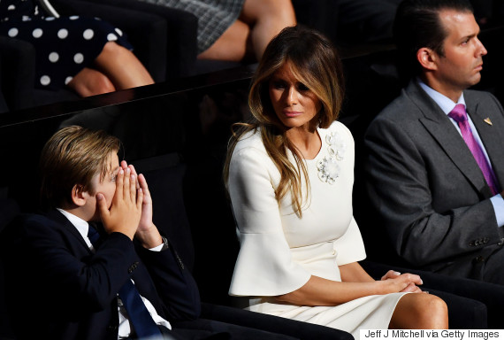 Image result for barron trump afraid