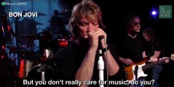 Bon Jovi Hallelujah - Year of Clean Water