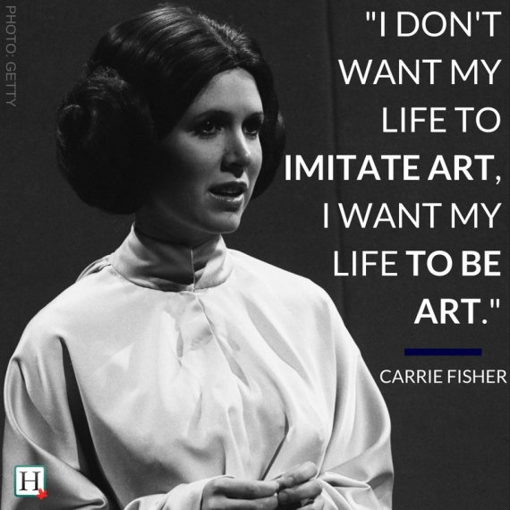 Image result for carrie fisher quotes
