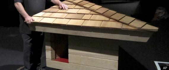 Frank Lloyd Wright Doghouse