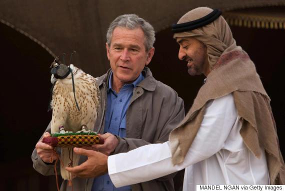 mohammed bin zayed bush