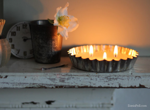Craft Of The Day Tart Tin Tea Light Candles  HuffPost