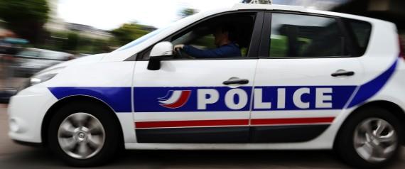 FRANCE POLICE CAR