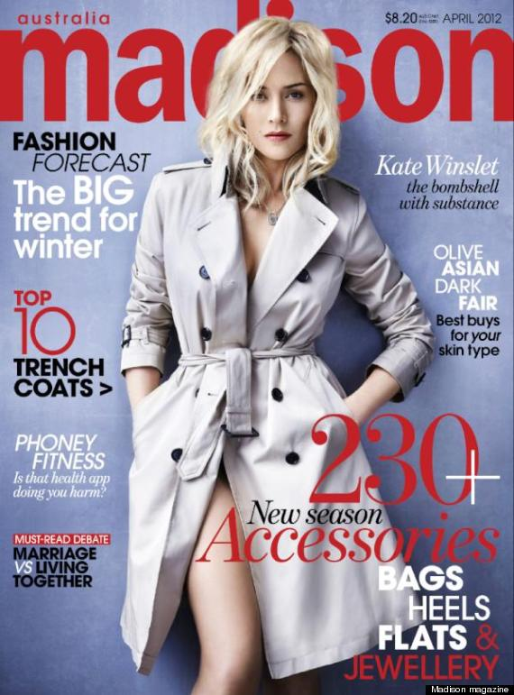 Kate Winslet Isnt Looking Quite Herself On The Cover Of