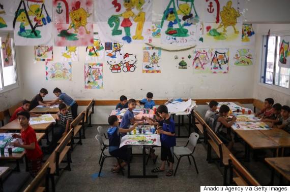 school gaza
