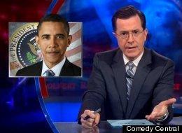 Colbert Obama