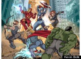 Sexist Avengers Poster Kevin Bolk