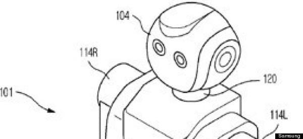 Samsung Patents Humanoid Robot (PHOTOS)