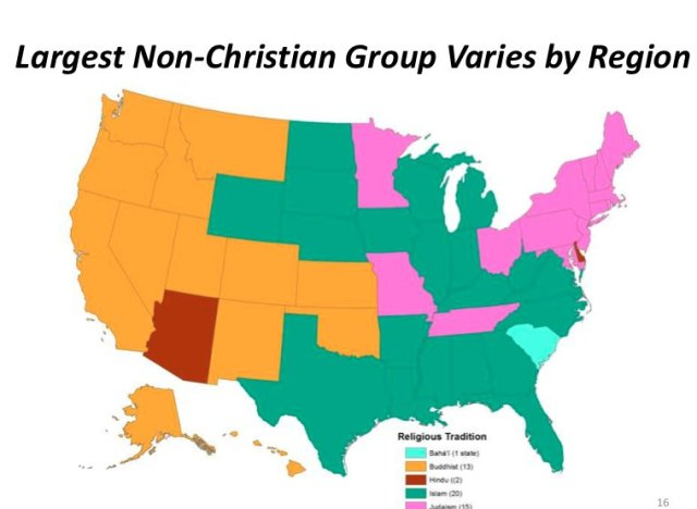 Most And Least Muslim States In America PHOTOS HuffPost