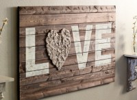 Craft Of The Day: Lovely Rustic Wall Art | HuffPost