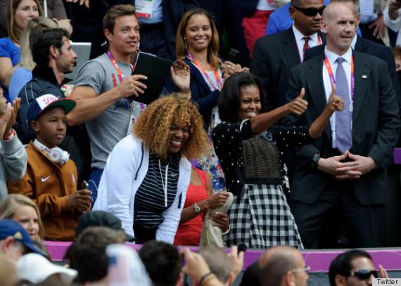 michelle obama olympics