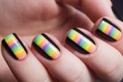 diy nail ideas kaleidoscope