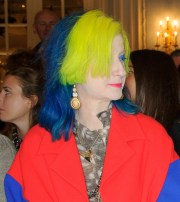 hair color in bright hues isn't