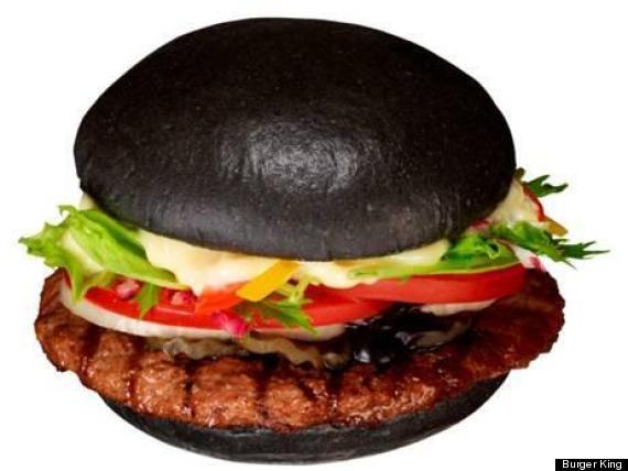 burger king black bun