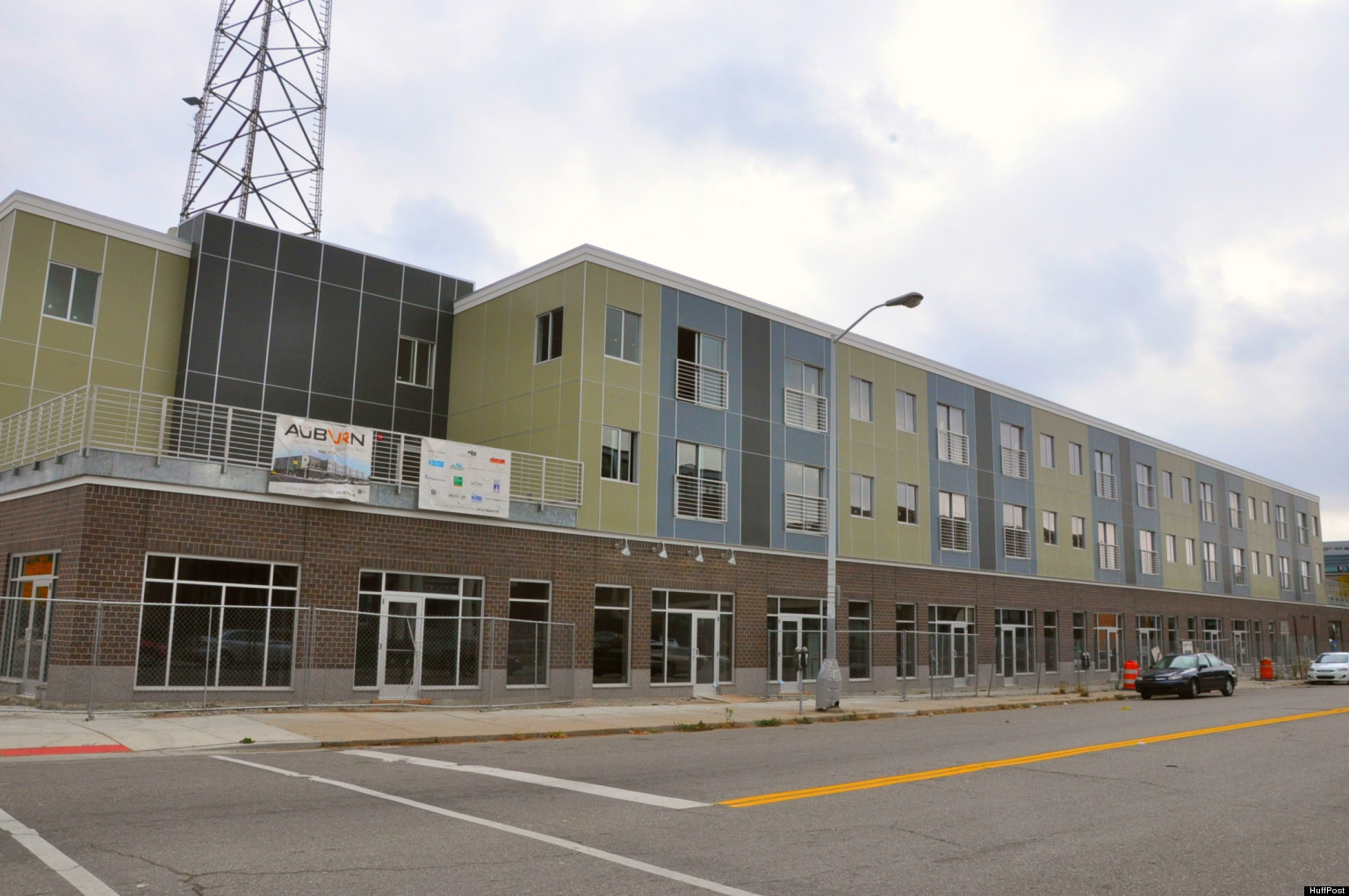 Auburn Building Will Open In Detroits Midtown Neighborhood With Apartments And 8 Retail Stores