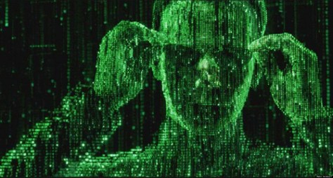 Keanu Reeves als Neo in The Matrix Reloaded