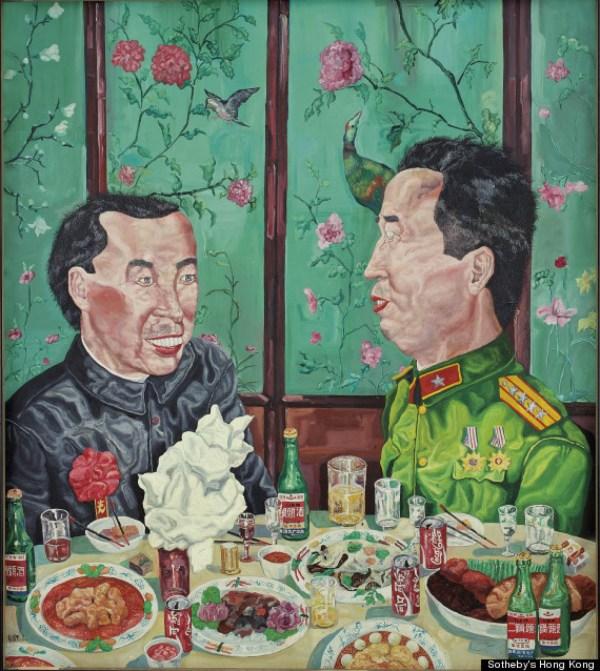 Sotheby' Hong Kong Auction Contemporary Asian Art Stars