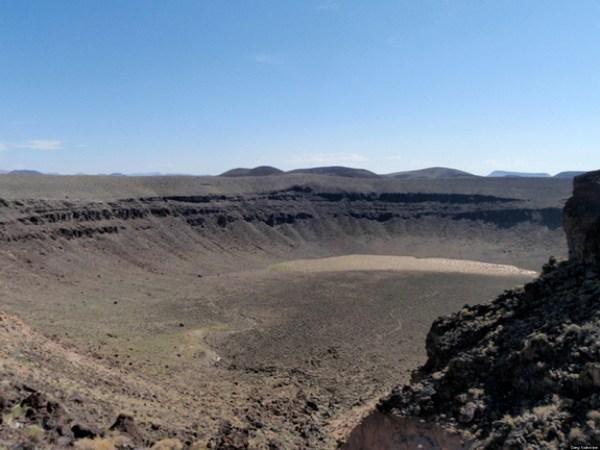 Maar-diatreme Volcano Geologists Predict