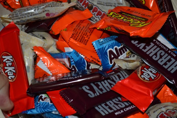 Candy And Junk Food In Classroom