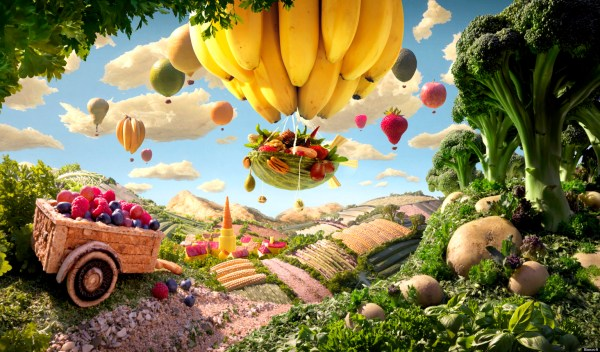Carl Warner Foodscape 'willy Wonka' Of Edible Art Huffpost Uk