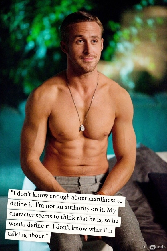 Ryan Gosling Quotes The Actor On His 32nd Birthday In