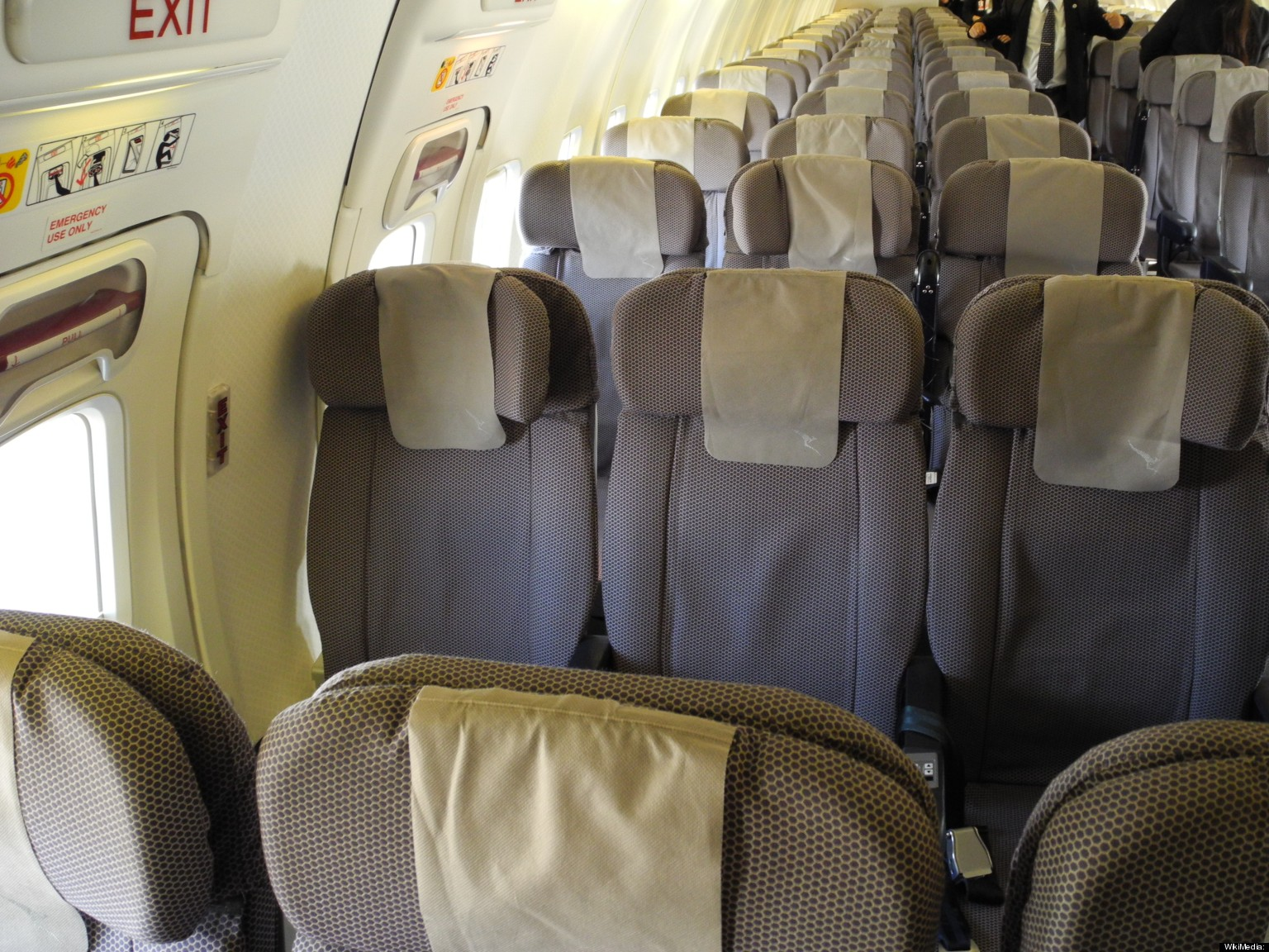 United Airlines Interior
