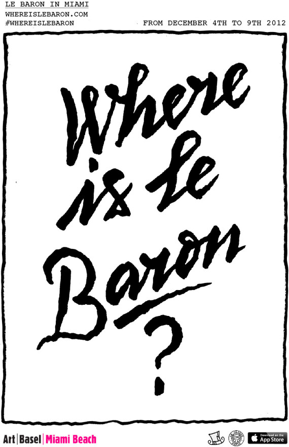where is le baron poster