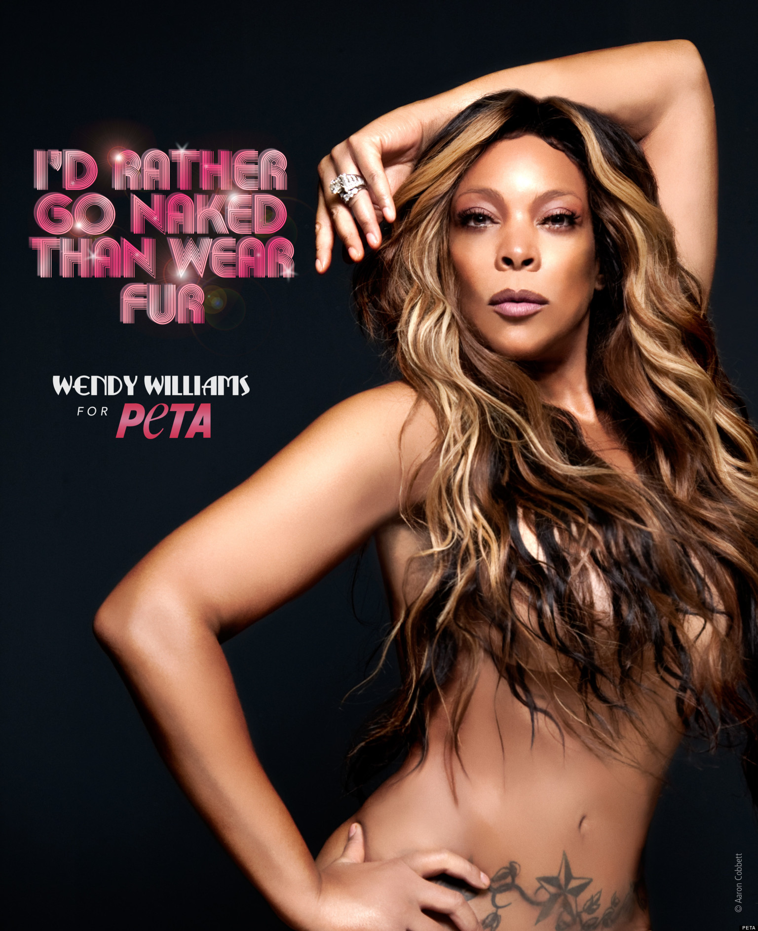 Wendy Williams Nude In PETA Ad NSFW PHOTOS  HuffPost