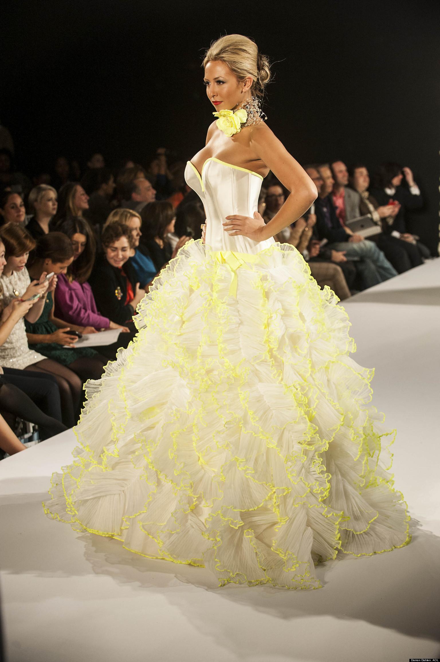 Wedding Dress Trends Most Daring 2013 Styles VIDEO