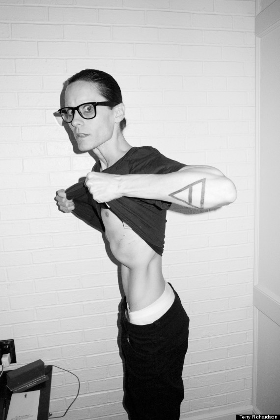 jared leto starved skinny dallas buyers club