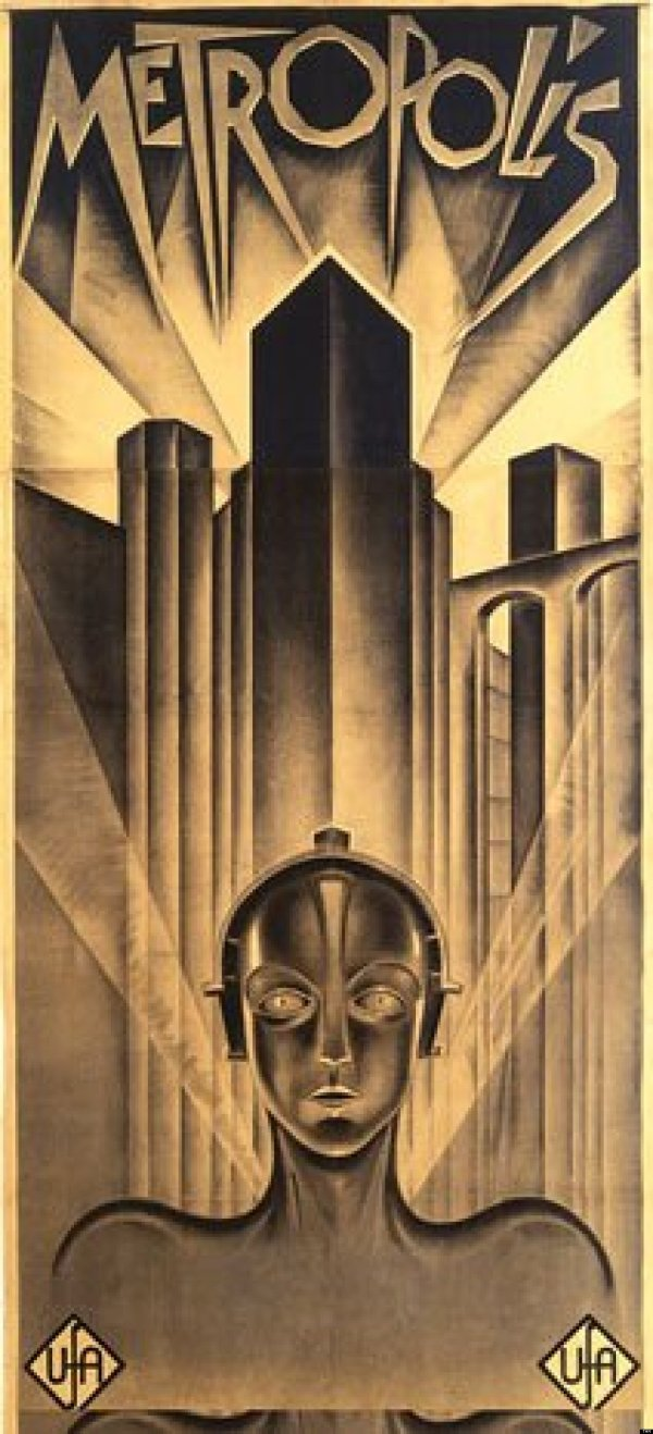 'metropolis' Poster Leads 1.2 Million Auction Of Movie