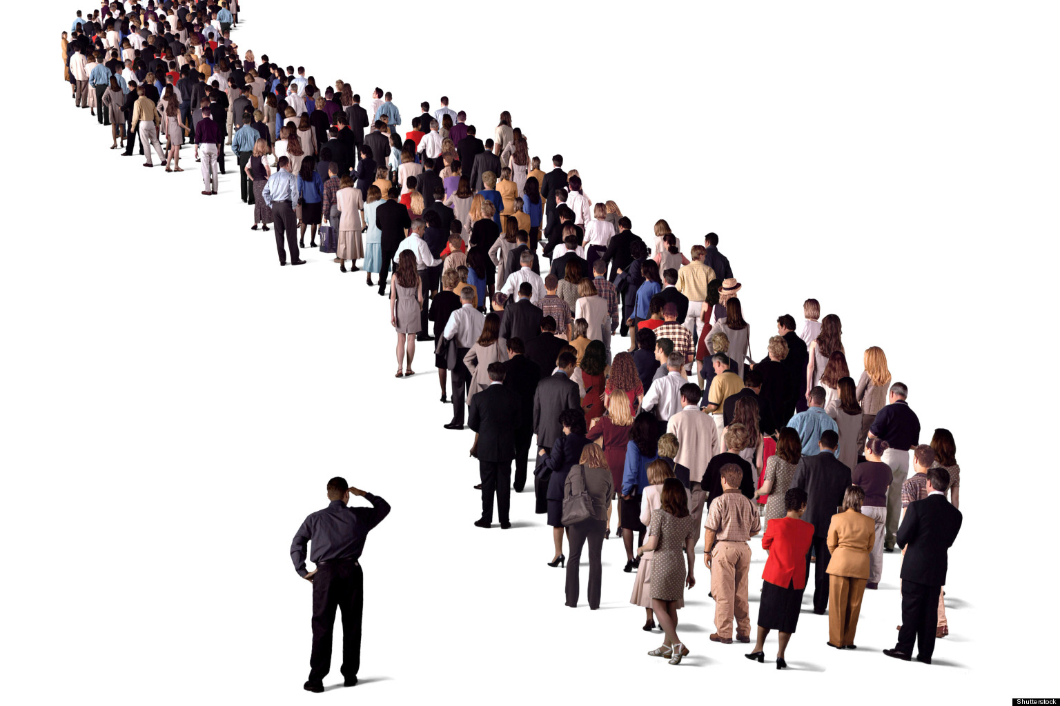 Image result for people in line