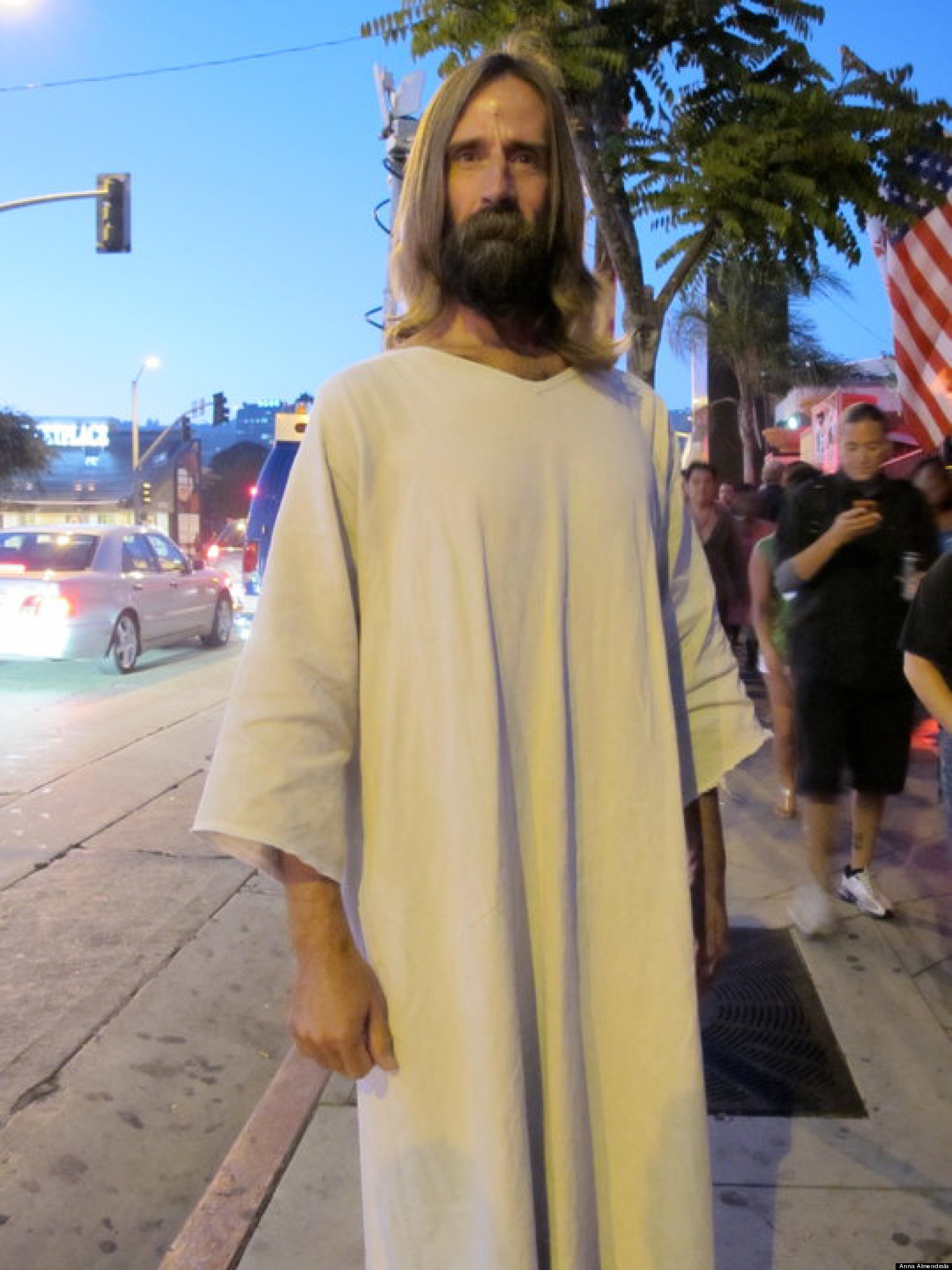Jesus In LA Have You Spotted Our Lord And Savior Around