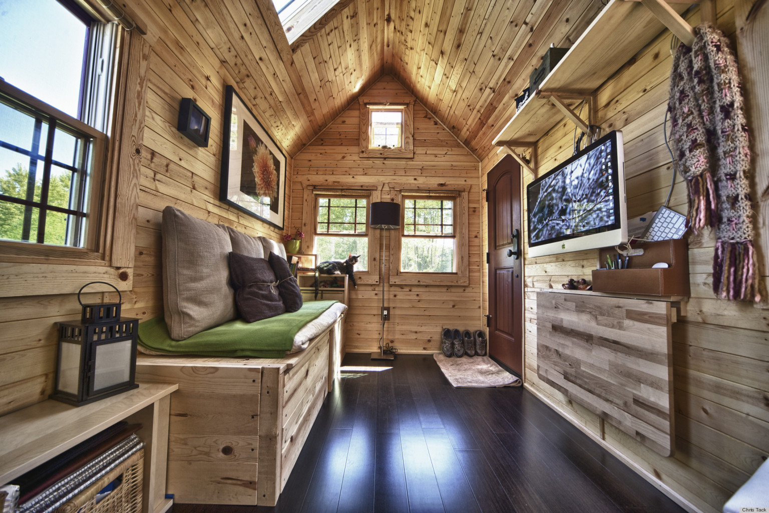 Chris And Malissa Tacks Tiny Home Transformed This HighTech Couple Into SimpleLiving Converts