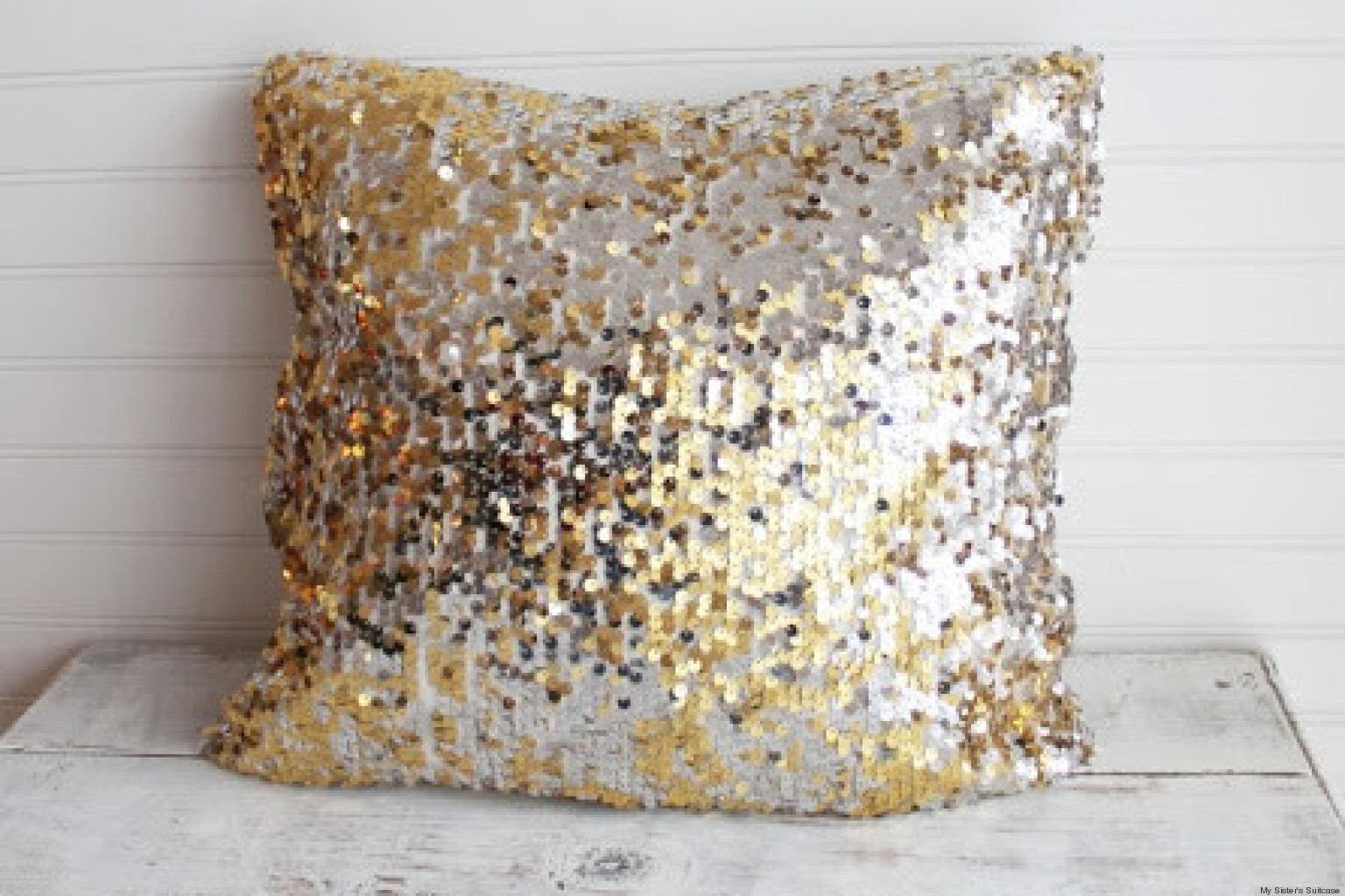 Sequin Throw Pillows