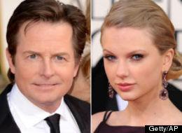 Michael J Fox Taylor Swift