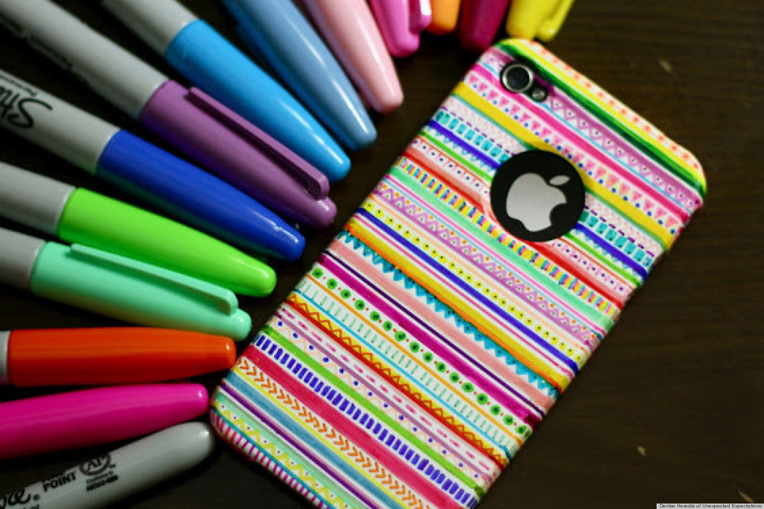 A DIY iPhone Case That Will Brighten Any Cold Winters Day