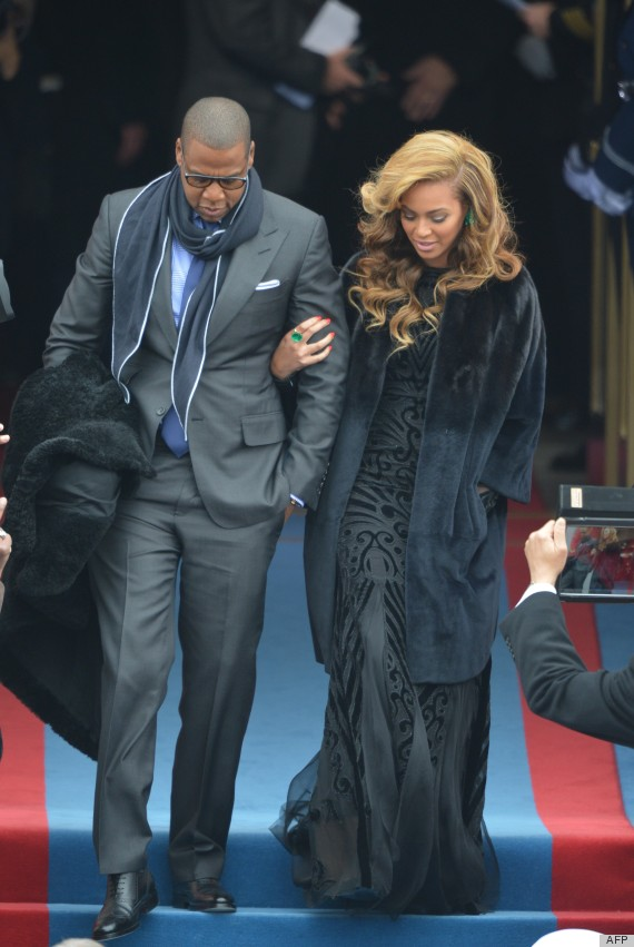 Beyonce s inauguration dress amp hair take our breath away photos
