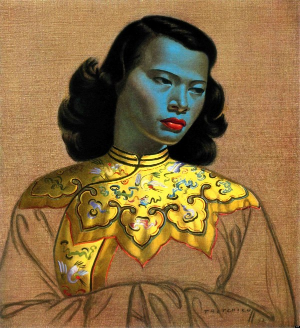 Vladimir Tretchikoff' Famous Print 'chinese Girl'