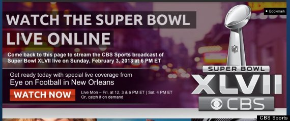 Super Bowl 2013 Live Streaming