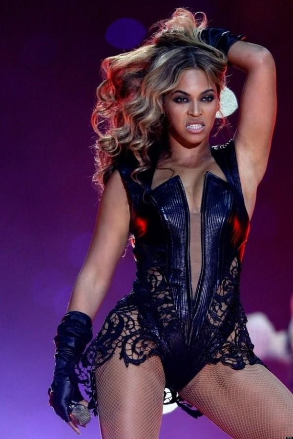 Unflattering Beyonce Super Bowl