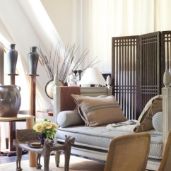 White Curtains For Living Room Table Accessories Designer Juan Montoya's House Tour Reveals A Worldly ...