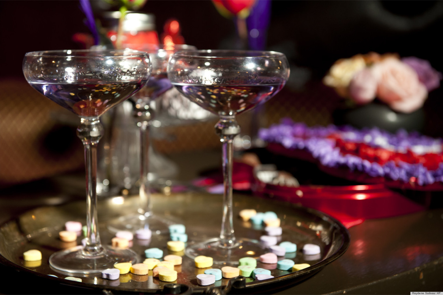 Valentine's Day Ideas An Easy Vintage Cocktail Party