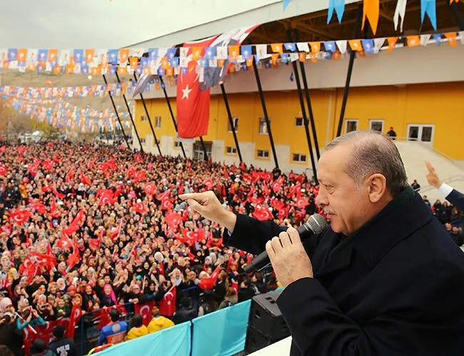 Turkey, not just me, being targeted: Erdoan