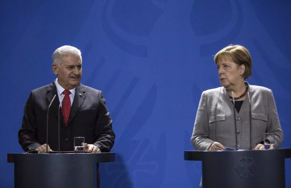 Turkey, Germany vow to improve strained ties following Merkel-Yıldırım meeting