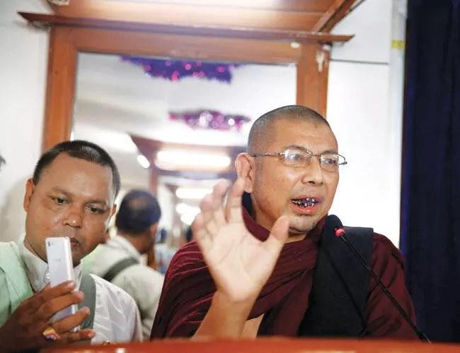 ultra nationalist myanmar monk