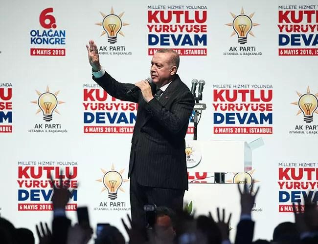 Erdoğan unveils manifesto for re-election bid