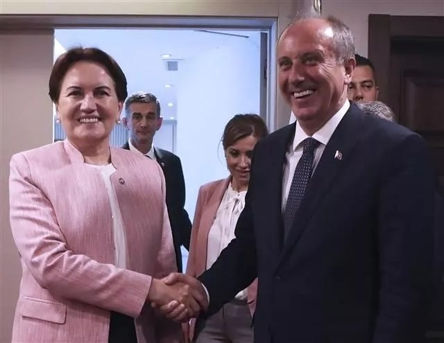CHP's presidential candidate İnce visits İYİ Party leader Akşener
